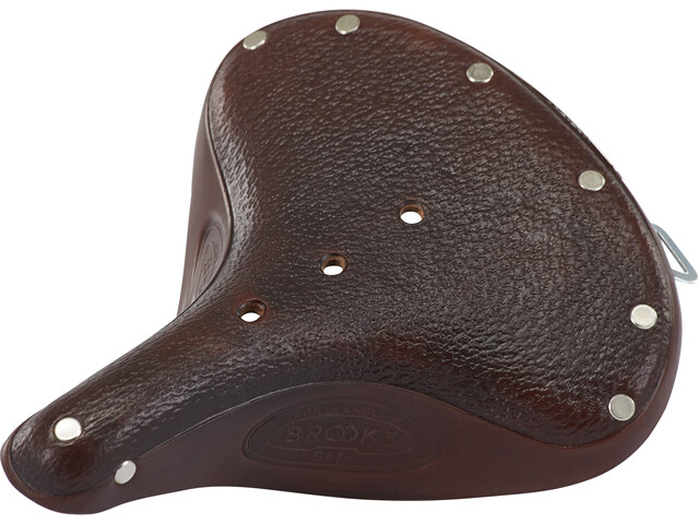 6647a7e2f32 Brooks B67 S Classic Saddle Made Of Corn Leather Women brown at ...